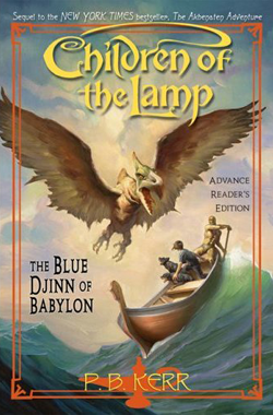 The Blue Djinn of Babylon Book Cover