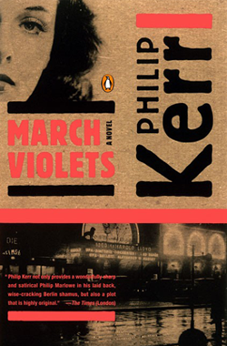 March Violets Book Cover